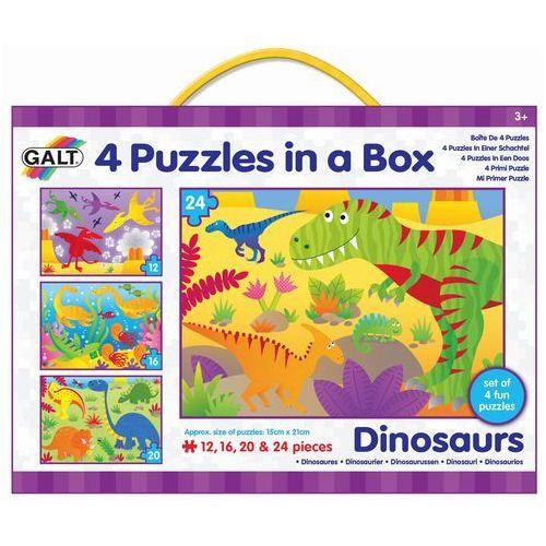 Galt puzzle dinozaury, 4w1