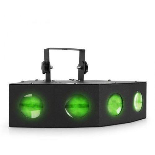 Czterofunkcyjny efekt świetlny Moonflower Beamz mini LED