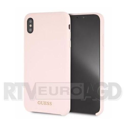 Guess guhci65lsgllp iphone xs max (jasnoróżowy) (3700740437315)