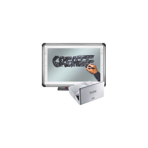 Newline Tablica interaktywna truboard r5-900e + projektor ultra short mw843ust + uchwyt ścienny benq
