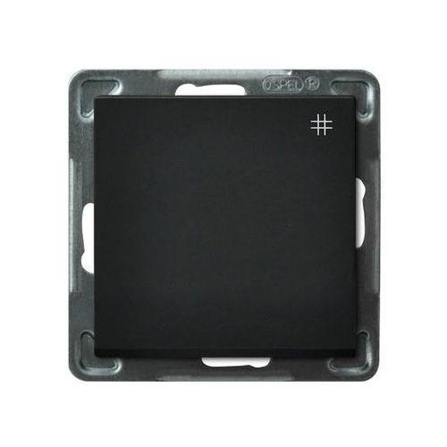 Łącznik krzyżowy czarny ŁP-4R/m/33 SONATA (5907577446055)