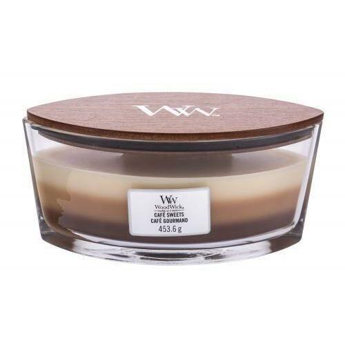 Woodwick - cafe sweets - potrójna świeca zapachowa - słodka przerwa (czas palenia: do 60 godzin)