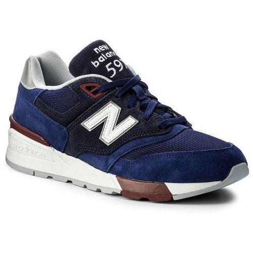 Sneakersy NEW BALANCE - ML597VAB Granatowy, 41.5-43