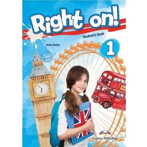Right On! 1 SB + ieBook EXPRESS PUBLISHING - Jenny Dooley