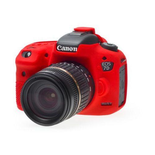EasyCover osłona gumowa dla Canon 7D mark II czerwona - produkt z kategorii- Futerały i torby fotograficzne