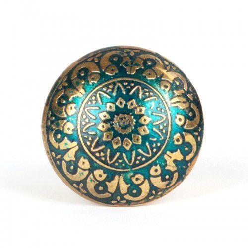 Gałka do mebli Orient Green, OR_02