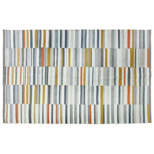 Dywan kilimowy tkany ręcznie z wełny bodega - 200x290 cm - wielokolorowy marki Vente-unique