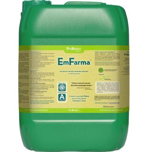 Probiotics polska sp z o.o. Emfarma - ekologiczny oprysk zamiast chemii 10 litrów preparat naturalny na bazie mikroorganizmów zastępuje opryski chemiczne.