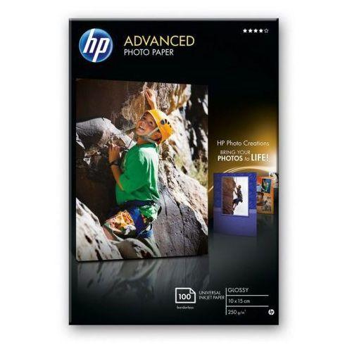HP Advanced Photo Glossy 10x15 100ark Q8692A - KURIER UPS 15PLN, Paczkomaty, Transport Kraków, Q8692A