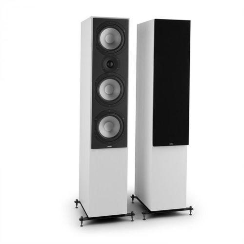 Reference 801 para 3-drożnych kolumn stojących białe z czarnymi osłonami marki Numan