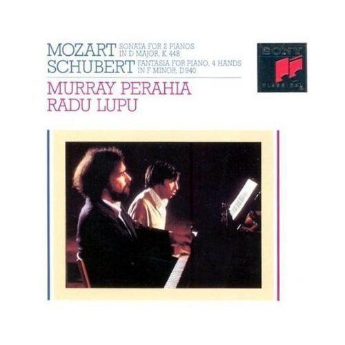 Sonata K.448, Piano Sonata for 4 Hands - Radu Lupu, Murray Perahia, towar z kategorii: Muzyka klasyczna - pozostałe