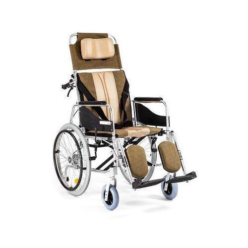 alh 008 wózek inwalidzki wózek inwalidzki aluminiowy stabilizujący plecy i głowę marki Timago