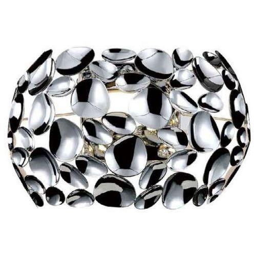 Orlicki design Kinkiet lampa ścienna carera parete cromo dekoracyjna oprawa metalowa led 7w 3000k ferrara chrom