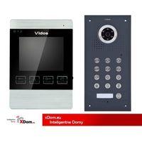 Zestaw Wideodomofonu S561D-G/M904S kolor Grafitowy
