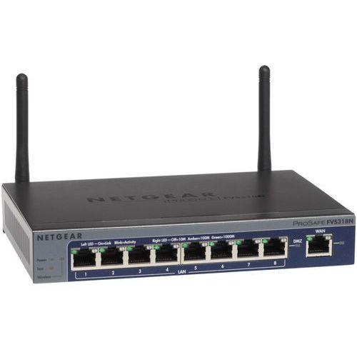 prosafe vpn gigabit wireless-n 8-port (ipsec, ssl) firewall (fvs318n-100eus) marki Netgear