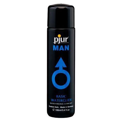 Wodny lubrykant analny tylko dla mężczyzn - Pjur Man Basic Water Glide 100 ml, PJ007C