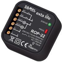 Exta life - radiowy odbiornik dopuszkowy 2-kanałowy rop-22 marki Zamel