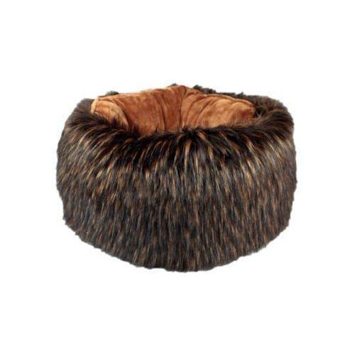 Pączek z futrem - raacoon brown, PAf-rabr