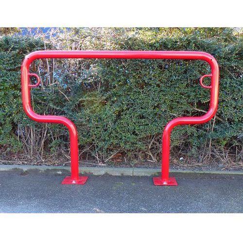 Melzer metallbau gmbh & co. kg Pałąk wsporczy do rowerów, wys. 850 mm ponad podłożem, do zakotwienia, lakierowa