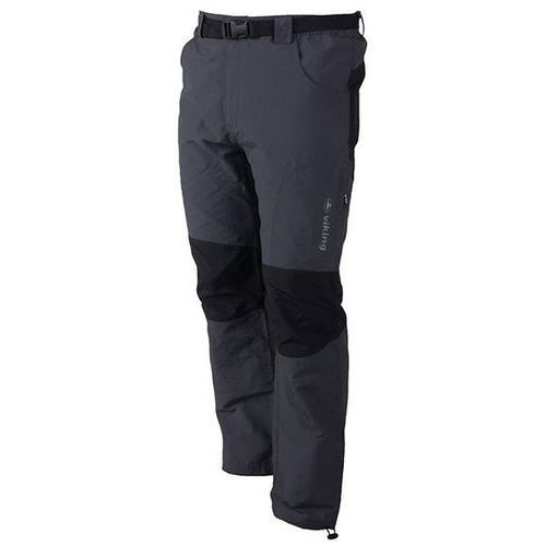 Męskie spodnie trekkingowe globtroter grafit m marki Viking