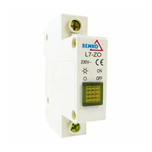 BEMKO Lampka sygnalizacyjna żółta A15-L7-ZO (5908311362020)