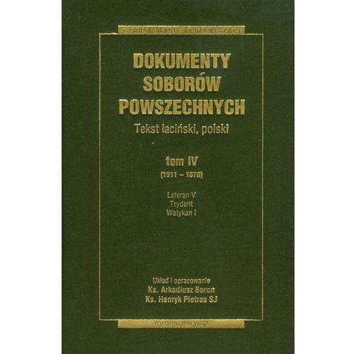 Dokumenty Soborów Powszechnych t.4 - Abp Bruno Forte (2011)