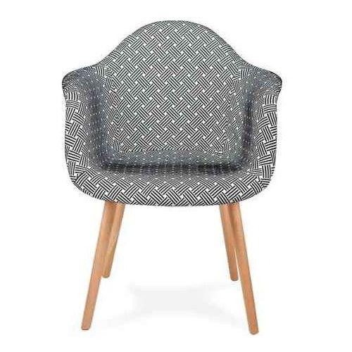 Fotel PLUSH splot - podstawa bukowa (5900168813113)