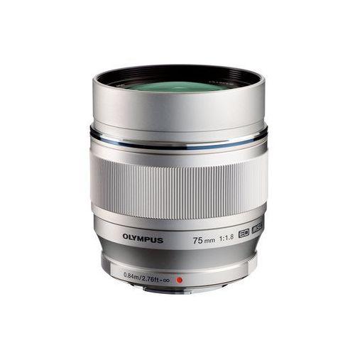 Obiektyw OLYMPUS M.Zuiko Digital ED 75 mm 1:1:8 (4545350041496)