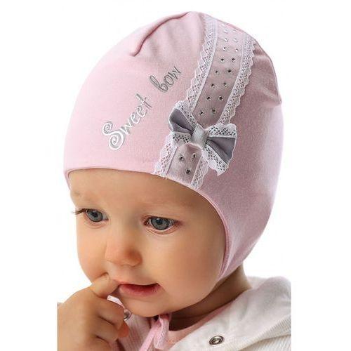 Czapka niemowlęca wiązana 5X34AP