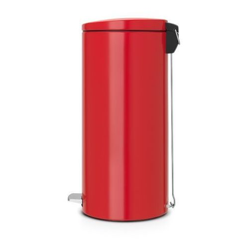 Brabantia - Kosz pedałowy Silent - wiaderko plastikowe – 30L - Czerwony Passion, kup u jednego z partnerów