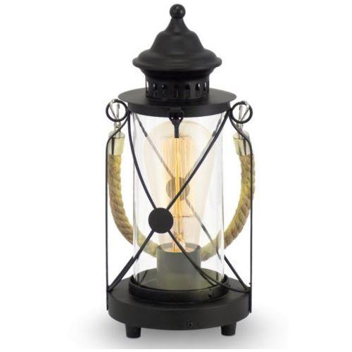 Eglo Lampa stojąca vintage bradford - 14 cm czarna, 49283