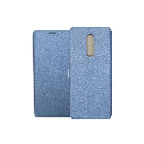 Sony Xperia 1 - etui na telefon Wallet Book - granatowy, kolor niebieski