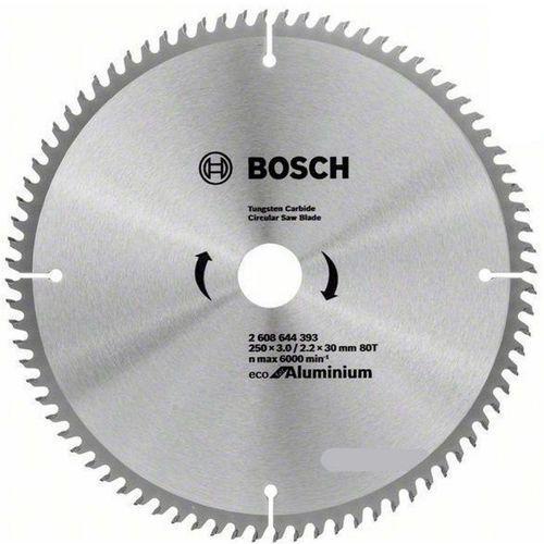 Bosch_elektonarzedzia Tarcza do pilarki bosch eco do aluminium 250 x 30mm 80z (2608644393) + darmowy transport! (3165140891141)
