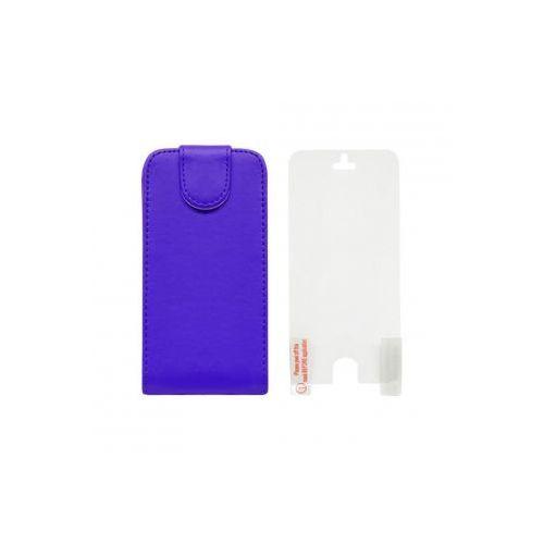 ADVANCED ACCESSORIES Etui EXEC FLIP dedykowane do Apple iPhone SE/5S/5 - niebieskie Odbiór osobisty w ponad 40 miastach lub kurier 24h - produkt z kategorii- Futerały i pokrowce do telefonów