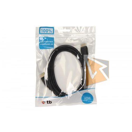 kabel hdmi 1.4 pozłacany 1.8 m. darmowa dostawa do 400 salonów !! marki Tb