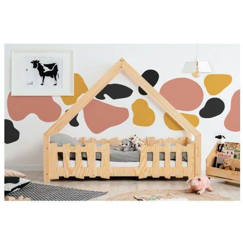 Drewniane łóżko dziecięce w formie domku 12 rozmiarów - Tiffi 4X, Gato