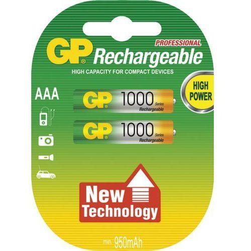 Gp 2 x akumulatorki  r03 aaa ni-mh 1000