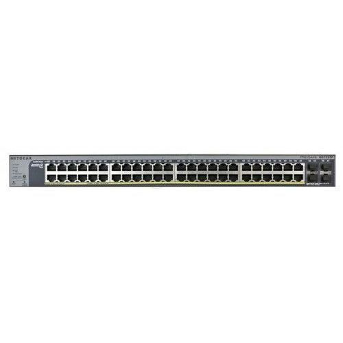 Netgear Switch Smart 48xGE 4xSFP (40/8xPoE/PoE+) - GS752TP, NUNTGSS48000002 (1320166)