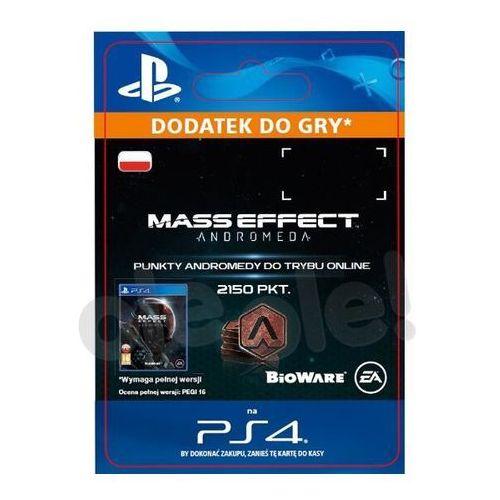 Sony Mass effect andromeda 2150 pkt [kod aktywacyjny] (0000006200264)