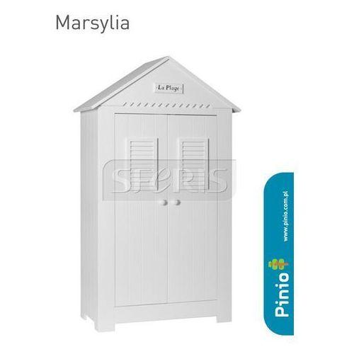 Szafa dwudrzwiowa Pinio Marsylia Biały - 101-041-010