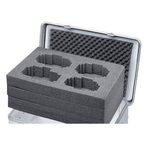 Zarges Zestaw pianek, pasuje do pojemników o poj. 27, 42, 60 lub 73 l, wys. 220 mm. z r