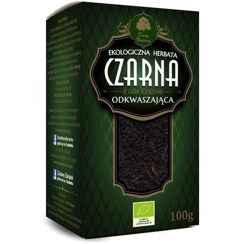 Herbata Czarna Odkwaszająca Liściasta BIO 100 g Dary Natury