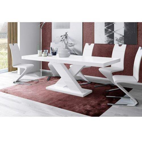 Hubertus Stół rozkładany xenon 160-208 biały mat