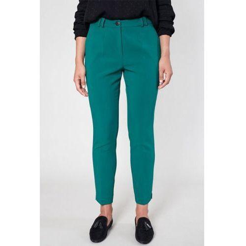 Spodnie damskie model andes 9585 green marki Click fashion