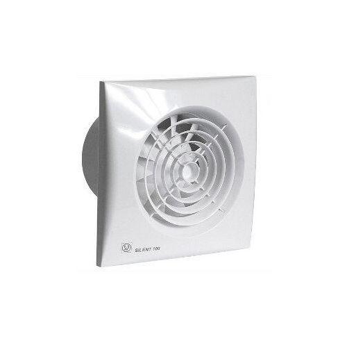 Venture industries /soler palau Wentylator łazienkowy cichy silent 100 cz. biały