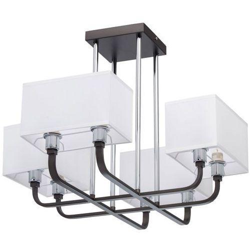 Mw-light Lampa sufitowa cztery proste, kwadratowe klosze - 8 żarówek megapolis (101012008)
