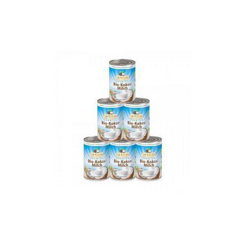 Mleko kokosowe BIO 400 ml Dr Goerg - Superpakiet 5 + 1 Gratis z kategorii Nabiał