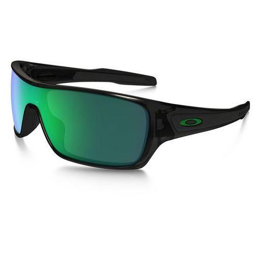 Oakley Turbine Rotor Okulary rowerowe zielony/czarny 2018 Okulary przeciwsłoneczne