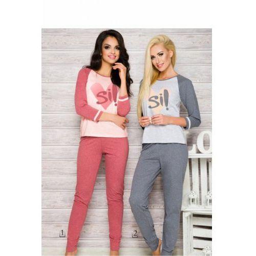 Piżama Damska Model Hana 2118 AW/17 K2 Grey, kolor szary