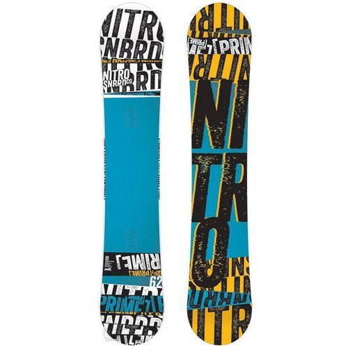 Potestowa deska snowboardowa prime stacked 162 cm marki Nitro